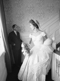 John F. Kennedy and Jacqueline Bouvier Kennedy embrace during their first dance at their wedding in Newport, Rhode Island. Description from pinterest.com. I searched for this on bing.com/images
