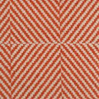 Geometric Orange by Highland Court