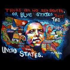 Senza titolo • barackobama: Just the United States of America.