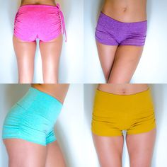 We love colour in your practice! Justa yoga shorts!!!
