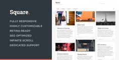 Square - Responsive Multi-Purpose Theme