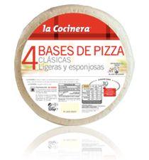 Bases de Pizza La Cocinera Clásicas (Supersol y Carrefour) - 1 unidad 7 puntos.