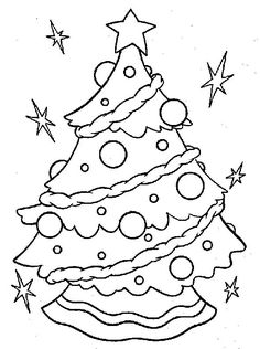 The Most Elegant Stunning Christmas Tree Coloring Sheets