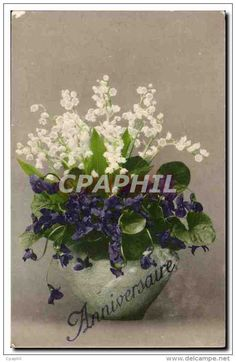 Vintage Soggiorno disegno : ... on Pinterest Lily of the valley, Postcards and Vintage postcards