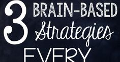 Early on in my teaching career, I was fortunate to discover how our students' brains work- literally HOW they learn. This opportunity change...