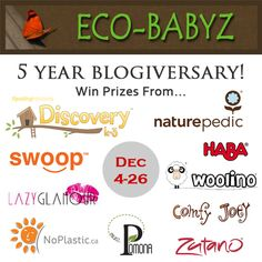 Win 1 of 3 Eco Friendly Prize Packs (Ends Dec.26)