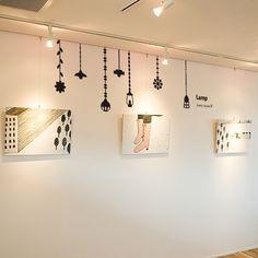 wallsticker lamp Wallpaper interior Design