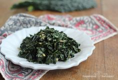 This sauteed kale recipe relies on a few secret flavor-bomb ingredients to tame the leafy green into a crave-worthy vegetable experience. Kale Recipes, Whole Food Recipes, Vegetarian Recipes, Cooking Recipes, Healthy Recipes, Paleo Meals, Vegetarian Dinners, Paleo Side Dishes, Vegetable Dishes