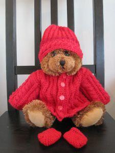 nuken vaatteet | Silmukoiden seassa Crochet Wreath, Baby Born, Teddy Bear, Animals, Noel, Animales, Animaux, Teddy Bears, Animal