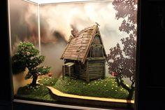 Mark Maher. Miniatures, diaroma.