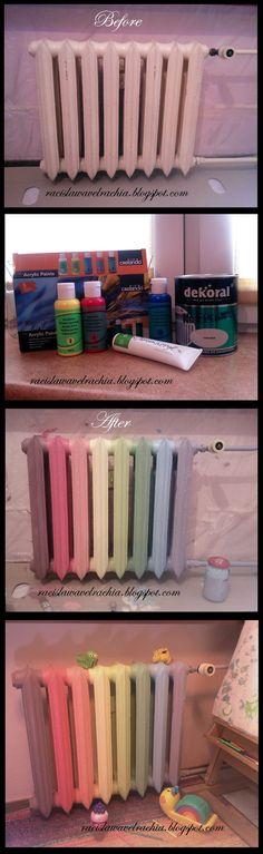DIY - rainbow heater