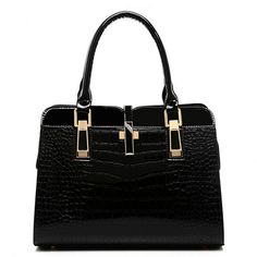 61.99$  Watch here - http://viuiz.justgood.pw/vig/item.php?t=ynn8bl44412 - Shoulder Bags Solid atmosphere TOTES business crocodile pattern leather Handbags 61.99$
