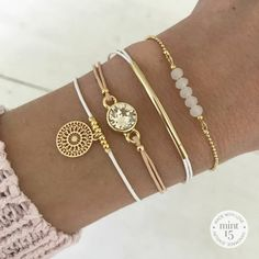 The sterling silver bracelets have actually been really popular amongst females. These bracelets are readily available in various shapes, sizes and designs. Jewelry Trends, Boho Jewelry, Jewelry Gifts, Beaded Jewelry, Jewelery, Resin Jewelry, Jewelry Necklaces, Woven Bracelets, Fashion Bracelets
