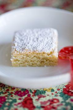 Santiago Cake (recipe from Ferran Adria). It's a cake popular with pilgrims in Santiago de Compostela.