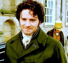 Pride and Prejudice directed by Simon Langton (TV Mini-Series, BBC, 1995) #janeausten gosh i love that green coat