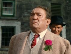 Red Will Danaher / Victor McLagen in The Quiet Man (it was years before I realized he was the same man from the trilogy of Ft. Apache, She Wore A Yellow Ribbon Hollywood Actor, Classic Hollywood, The Quiet Man, John Wayne Movies, Maureen O'hara, John Ford, Hard Men, Best Supporting Actor, Tv Couples