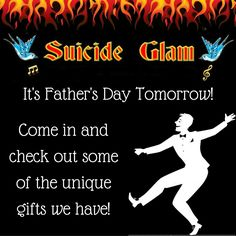 We've got plenty of great gifts to suit every budget for your Dad! - Suicide Glam Australia https://www.facebook.com/suicideglamaustralia