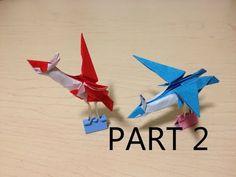 Tutorial - Origami Latios/Latias (Part 2 of 2) - YouTube