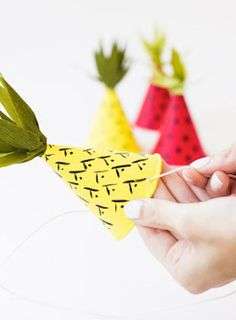 One of the latest fruits to crop up in DIY is pineapples! Be on top of the latest trends with these 15 pineapple crafts.