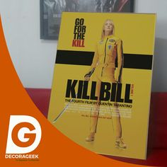 Póster de Cinema Original Kill Bill Vol. 1 version cinemas de USA. Compralo DecoraGeek.com