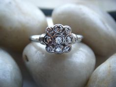 Diamond Engagement Ring Sterling Silver by adamfosterjewelry, $1200.00