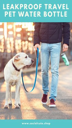 Enjoy your hiking, camping or even walking with your Pet without worrying about if he is thirsty 🐶😻. Dog Water Dispenser, Pet Water Bottle, Water Waste, Pet Travel, Outdoor Dog, Pet Health, Dog Supplies, Dog Walking, Drinking Water