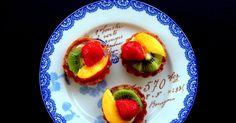 Daniela&Diocleziano: Crostatine alla frutta con crema pasticcera vegan al latte di soya e vaniglia