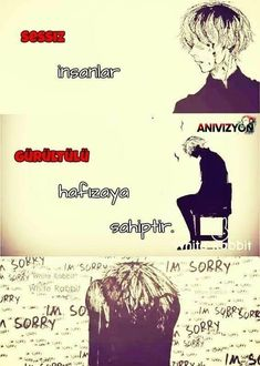 Read ❤ from the story Anime Capsleri by temizdelirdim (Akıllı bir deli. Meaningful Anime Quotes, Meaningful Photos, Sad Anime Quotes, Kaneki, Your Name Anime, Alone Art, Writing Art, Wild Creatures, My Philosophy