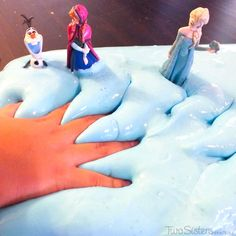 Disney Frozen Troll Slime - for the boys to bury plastic princesses