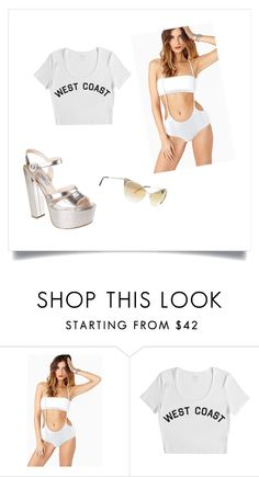 """""""Miley Cyrus We Can't Stop Outfit"""" by adrianslade ❤ liked on Polyvore featuring Stampd, Tom Ford and Prada"""
