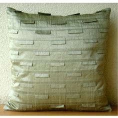 Luxury Taupe Green Pillows Cover, Modern Cushion Covers, ... https://www.amazon.com/dp/B005C1BRN6/ref=cm_sw_r_pi_dp_x_mnPryb6K70JDT