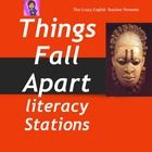 I have created 10 literacy/learning stations for the Novel Things Fall Apart by Chinua Achebe. This hero is almost Shakespearean in his tragedy, an...