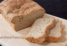 Wheat & gluten free flax bread recipe, finally a healthy gluten free bread that doesn't crumble, and makes great sandwiches