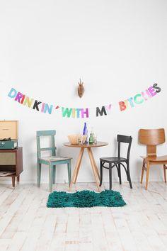 Bachelorette party decor... Or for Thursdays? @Juliana * Aguilar