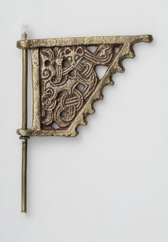 Object from the exhibition We call them Vikings produced by The Swedish History Museum Weathervane, miniature, copy Bronze SHM Viking Knotwork, Viking Ornament, Viking Art, Viking Dragon, Viking Life, Viking Ship, Nordic Vikings, Swedish Vikings, Norse People