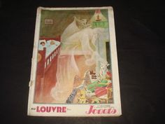 Catalogue Jouets Etrennes 1927 Au Louvre Paris