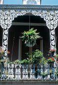 New Orleans, Louisiana, French Quarter balcony