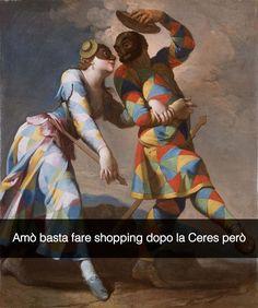 Memevale? Cos'è Memevale Arlecchino e Colombina - Giovanni Domenico Ferretti (1740)