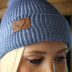 Super soft and warm, our heathered beanies are a knitted blend with a leather patch.Attention To Detail
