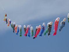 Gabulle in wonderland: DIY du mercredi : poissons volants japonais