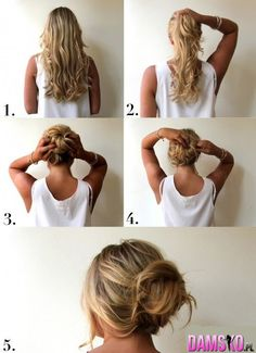 What's the Difference Between a Bun and a Chignon? - How to Do a Chignon Bun – Easy Chignon Hair Tutorial - The Trending Hairstyle Cabelo Inspo, Perfect Messy Bun, Cute Messy Buns, Perfect Ponytail, Corte Y Color, Tips Belleza, About Hair, Great Hair, Hair Day