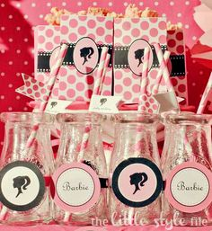 Barbie Party - Shop Sweet Lulu bottles and straws