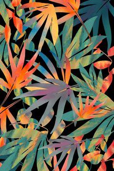 Club Tropicana Sunset  Canvas Print