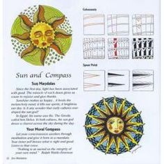 Sun and compass