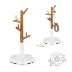 Stojak na biżuterię Balvi - miejsce na czerwone korale i pierścionek zaręczynowy #pierścionek #zaręczynowy #zaręczyny #engagement #ring #stojak #biżuterię #biżuteria #drzewo #tree #wood #jewellery #bransoletka #naszyjnik #necklace #wedding #diy #czerwone #korale #prezent #ślubny #ślub #lemon #homemade #woodstock #doll #dolls #lalka #lalki #drewniane #meble #surprise #new #nowość #cute #awesome #balvi #onemarket.pl