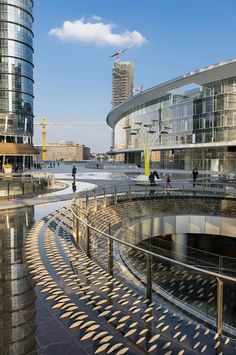 Piazza Gae Aulenti, Milan, Italy designed by AECOM