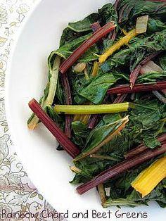 Chard and Beet Fettucine | Recipes to Try | Pinterest | Rainbow Chard ...