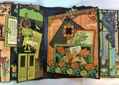 Graphic 45 Artisan style photo album by Anne Rostad annes papercreations