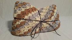 Crocheted Cotton Corner to Corner Afghan by CuddleUpBoutique
