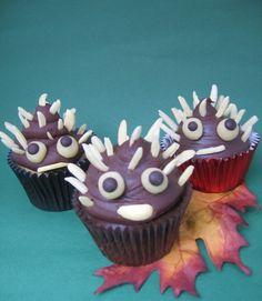Maronen Igel Cupcakes